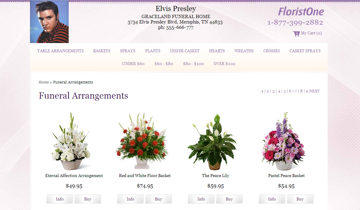 Flowers affiliate program for funeral homes visitors click a send flowers link from an online memorial or tribute on your website and they are taken to a florist landing page where they see the izmirmasajfo